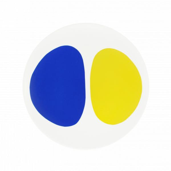Contraste Entre Amarelo E Azul