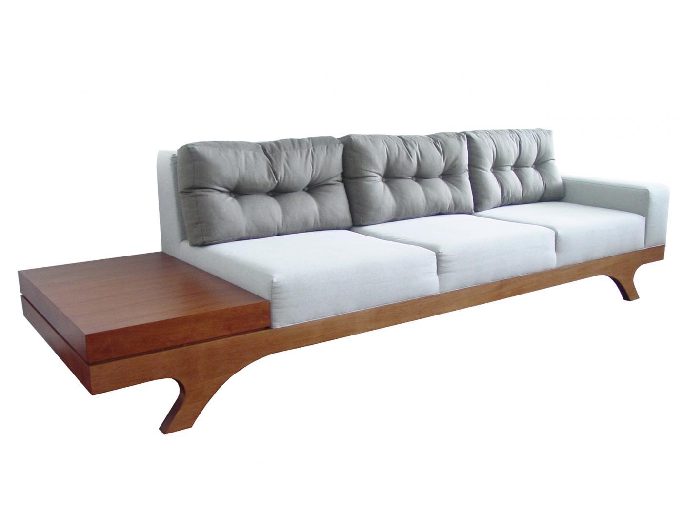Sof miranda com mesa lateral boobam for Muebles de oficina sarmiento 1400