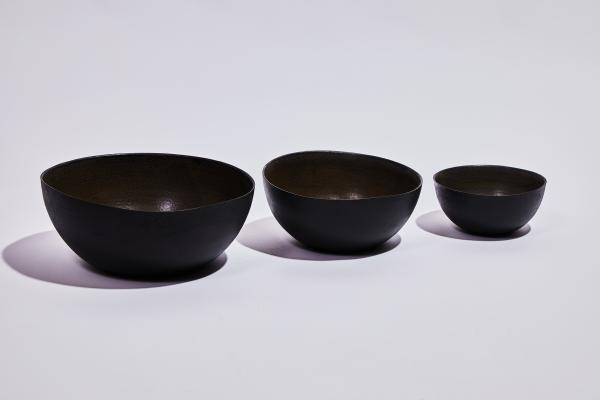 Trio Bowl Slim Black